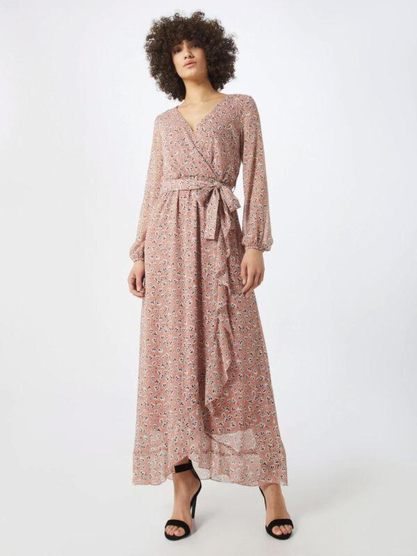 Enkellange jurk met print