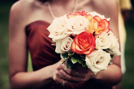 eigen trouwboeket van nepbloemen maken