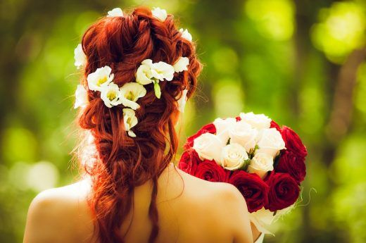 diy wedding hair accessories