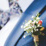 DIY corsage van kunst- of echte bloemen