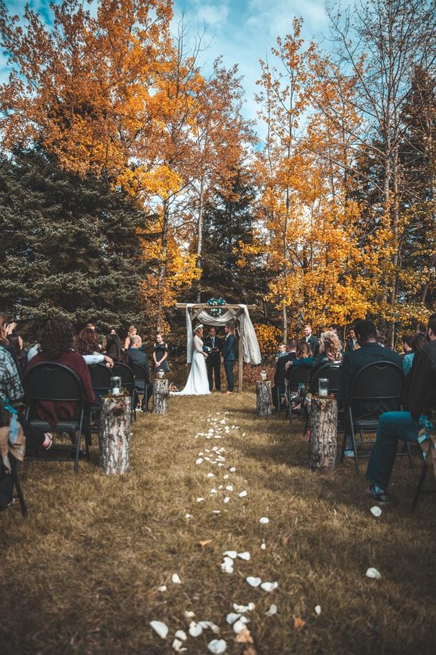 trouwen op eigen locatie
