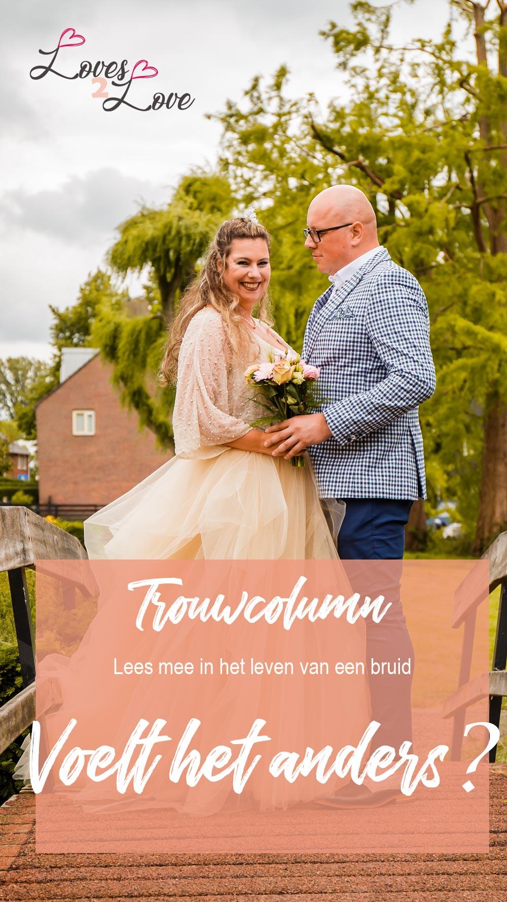 Trouwcolumn - lees mee in het leven van een bruid