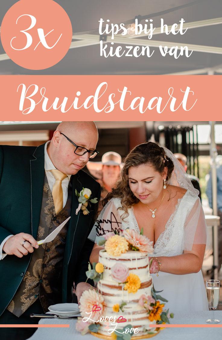 3 tips bij het kiezen van een bruidstaart.