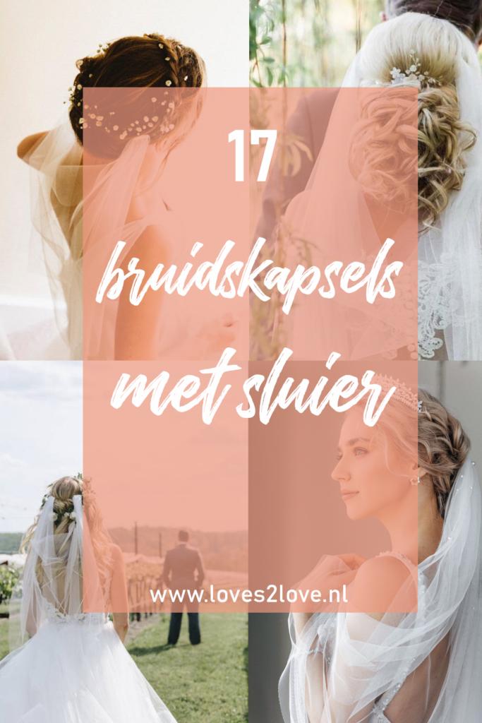 17 keer de mooiste bruidskapsels met sluier voor een dromerige bruiloft