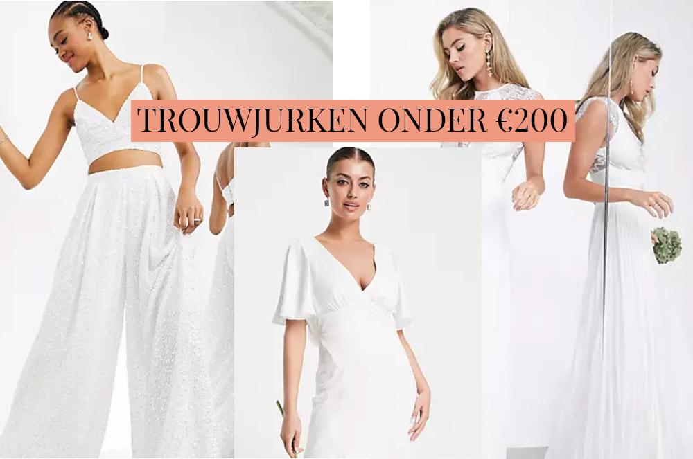 10 x goedkope trouwjurken voor minder dan 200 euro